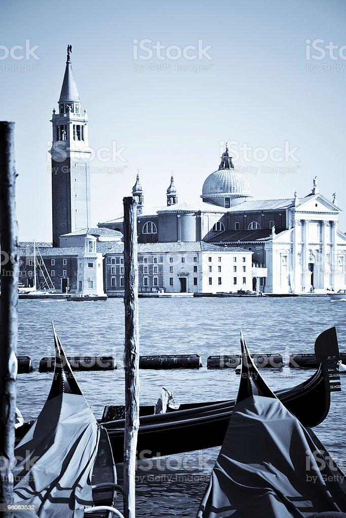 Venezia in toni caldi foto stock royalty-free