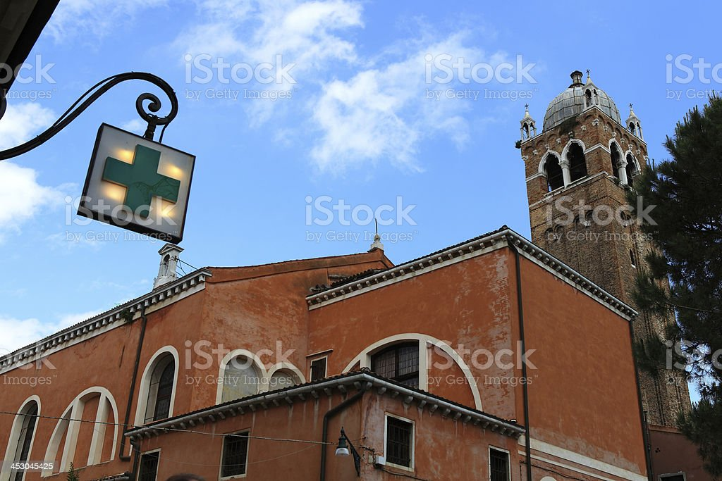 Venice in northeastern Italy royalty-free stock photo