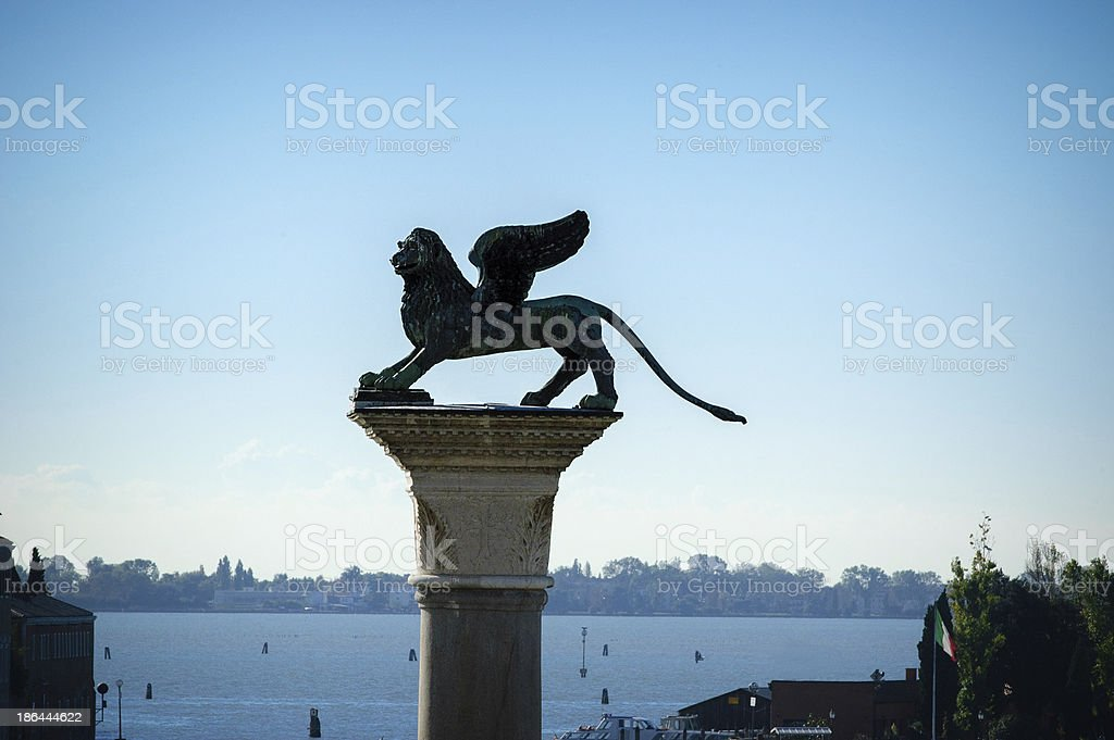 Venice in Oktober royalty-free stock photo
