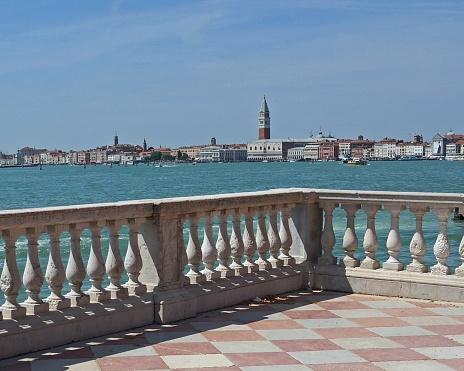 Venice Italy from Viale Giardini Pubblici