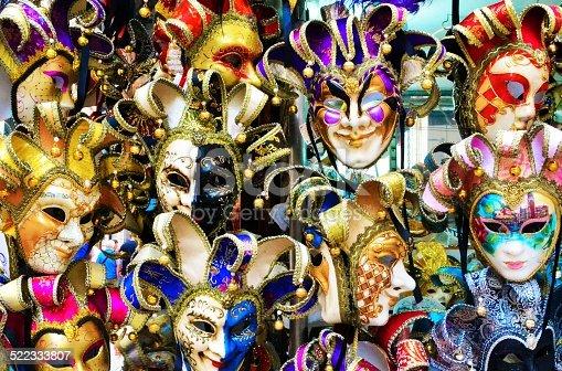 istock Venice, Italy. Masks 522333807