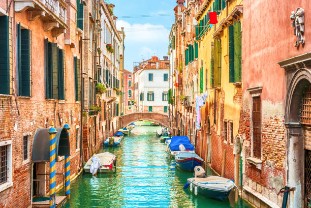 Venice Italy Canal in Venice, Italy canal stock pictures, royalty-free photos & images