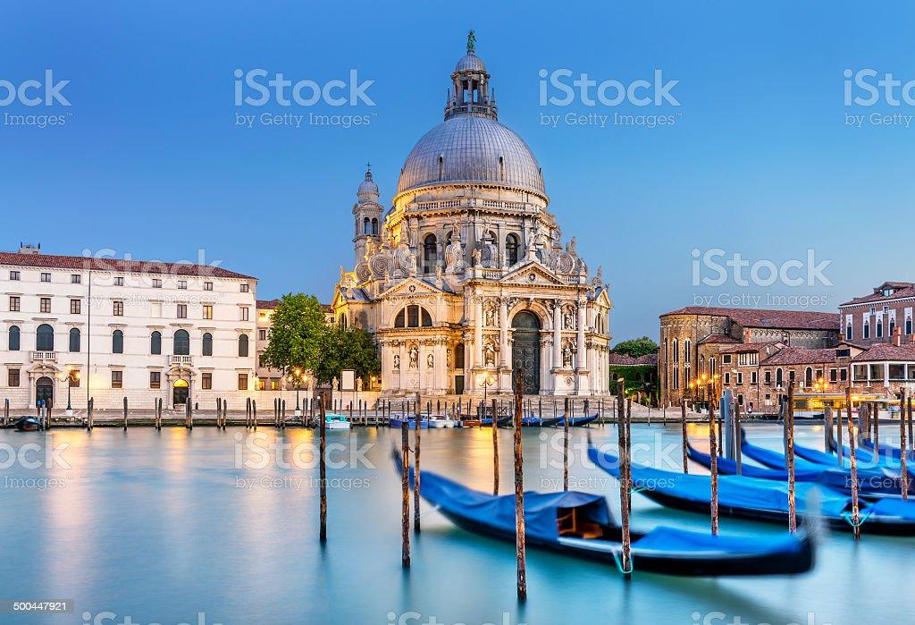 Venice, la salute stock photo