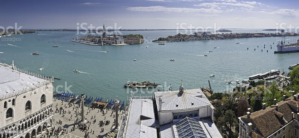 Venice landmark waterfront vista royalty-free stock photo