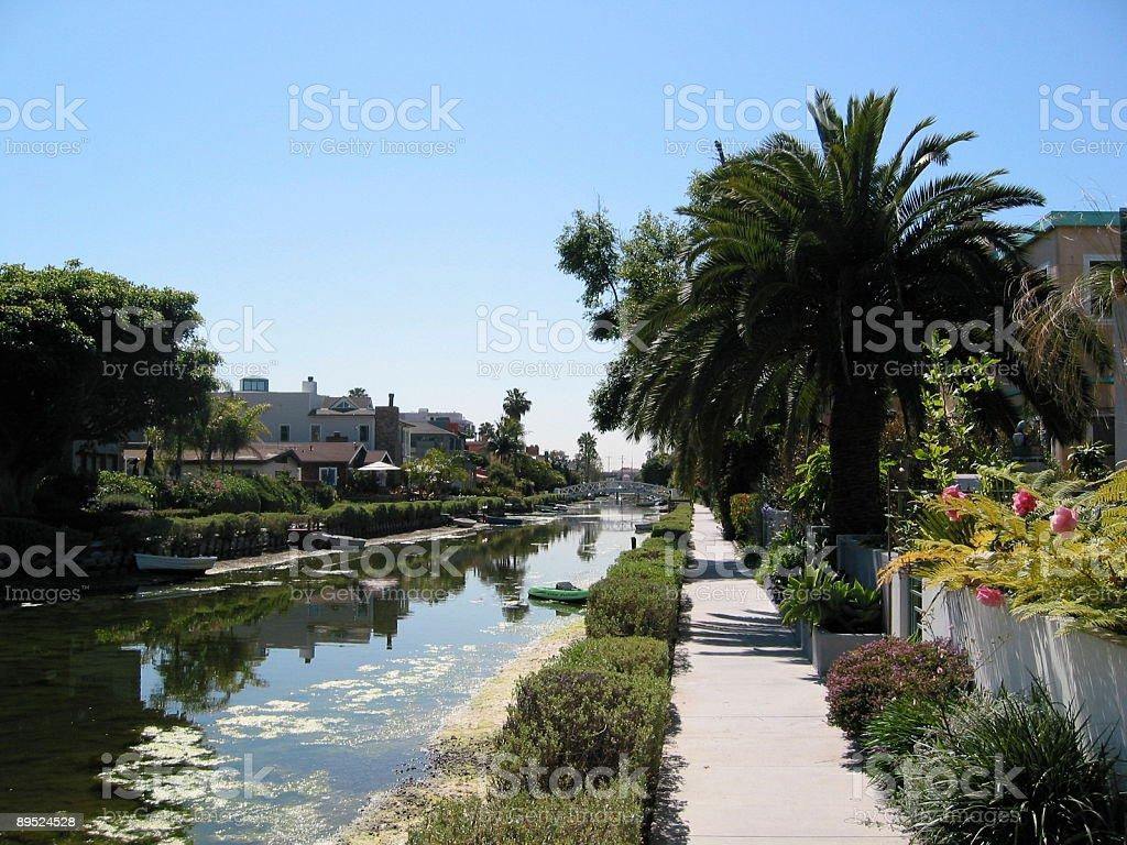 Venice, Los Angeles royalty-free stock photo