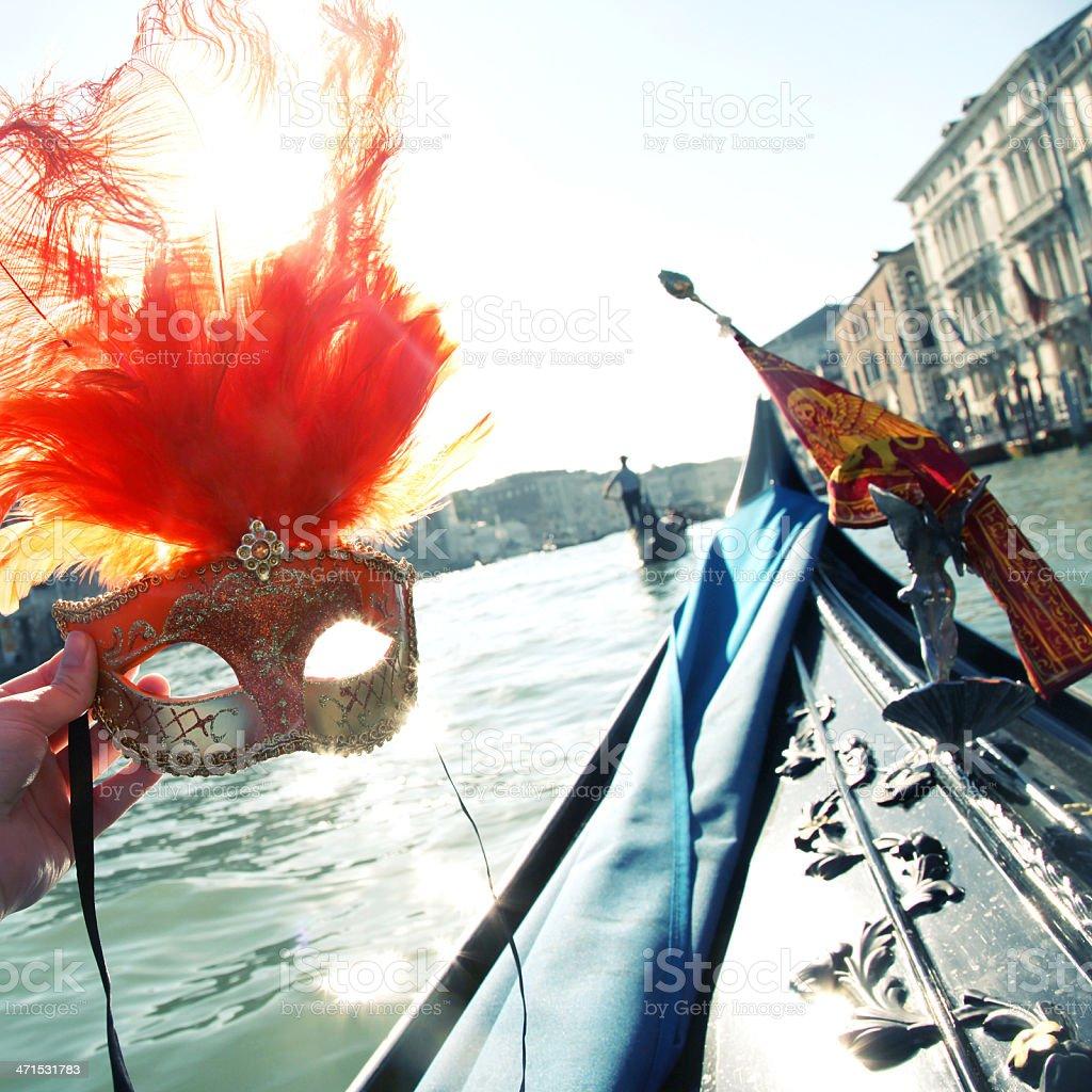 Venice Mask royalty-free stock photo