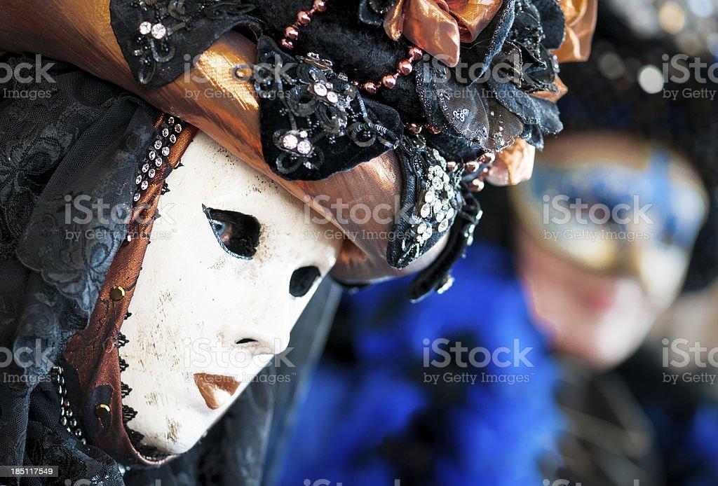Venice mask portrait royalty-free stock photo