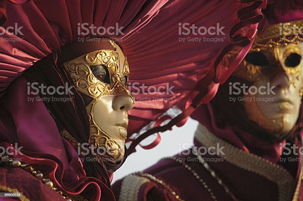 Venice masks royalty-free stock photo