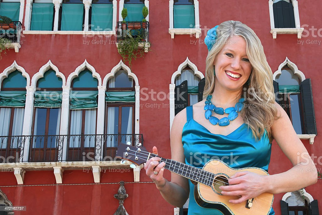 Venice Music royalty-free stock photo