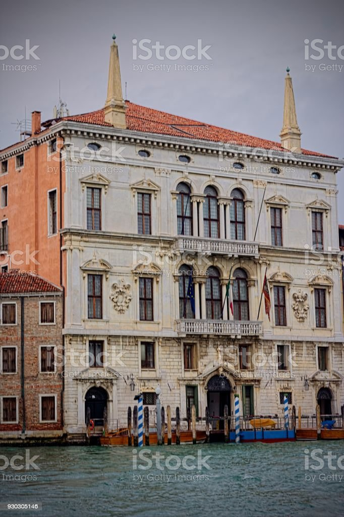 Venice Palace stock photo