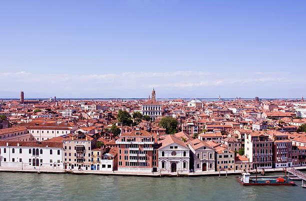 Venice panorama stock photo