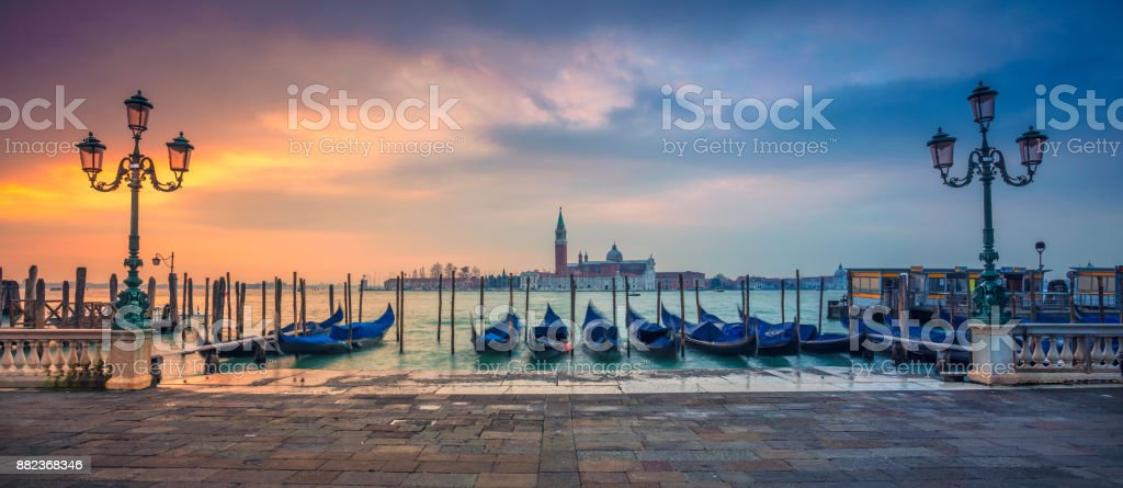 Venice Panorama. stock photo