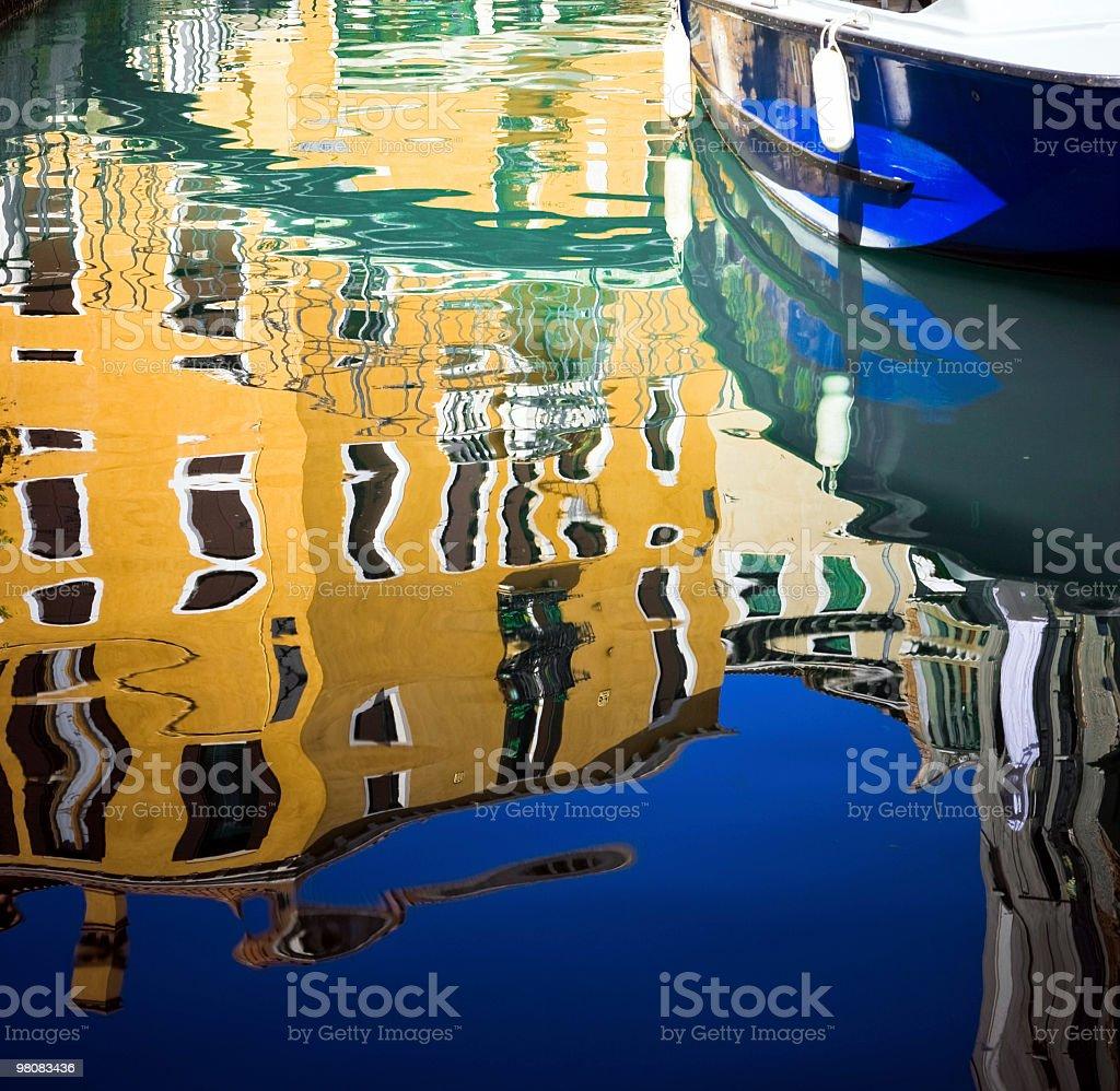 Venice reflection royalty-free stock photo