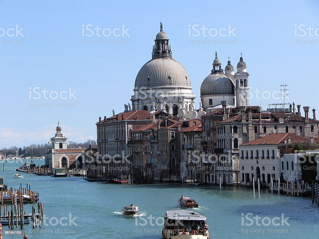 Venice River royalty-free stock photo