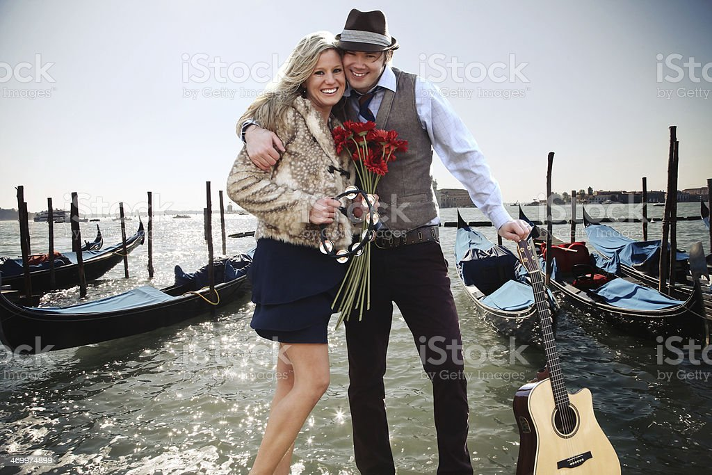 Venice Romance royalty-free stock photo