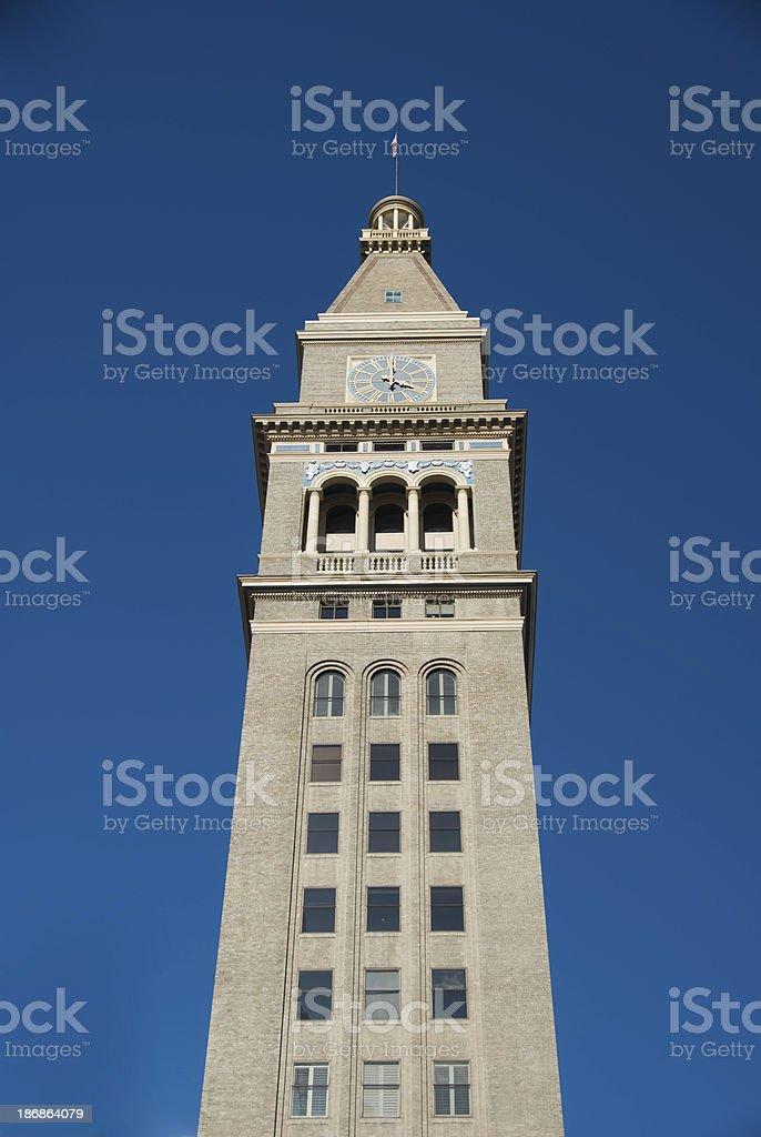 Venice San Marko tower stock photo