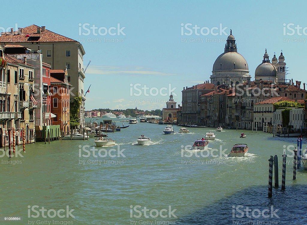 Venice: Santa Maria della Salute stock photo