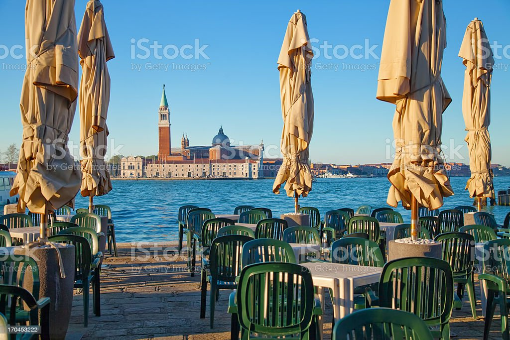 Venice seafront royalty-free stock photo