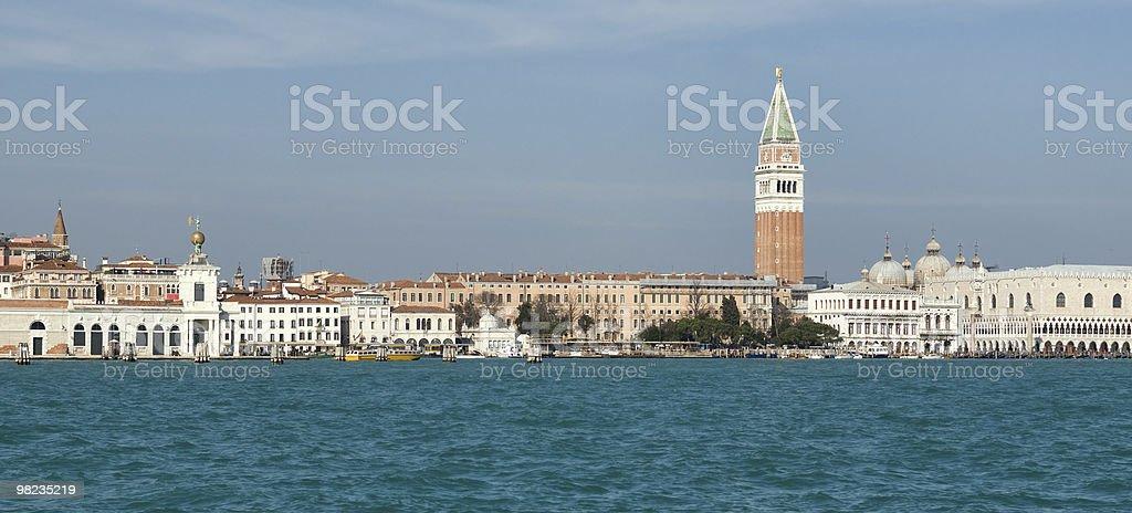 Venezia, vista sullo skyline foto stock royalty-free