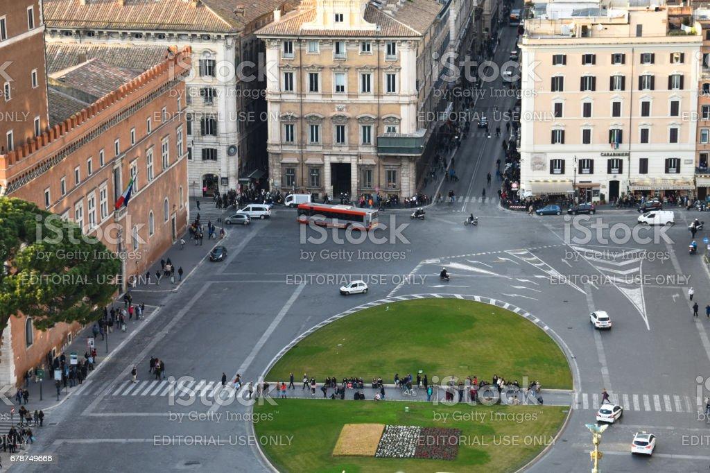 Venice Square (Piazza Venezia) photo libre de droits