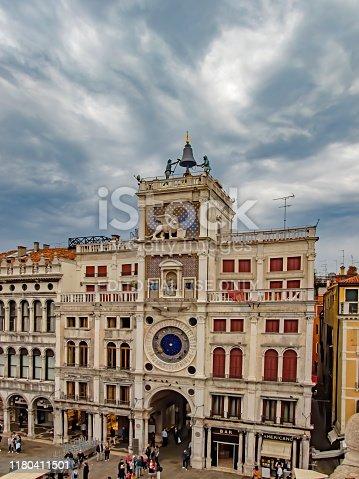 Venice, St Mark's Clocktower - Italy