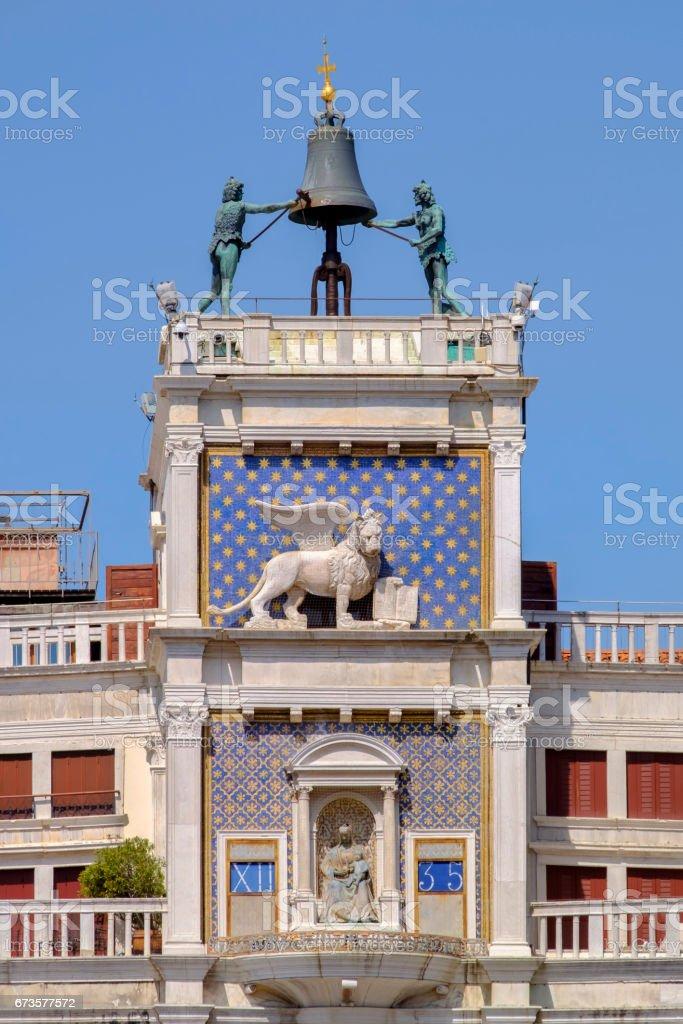 Venice, St Mark's Clocktower - Italy stock photo