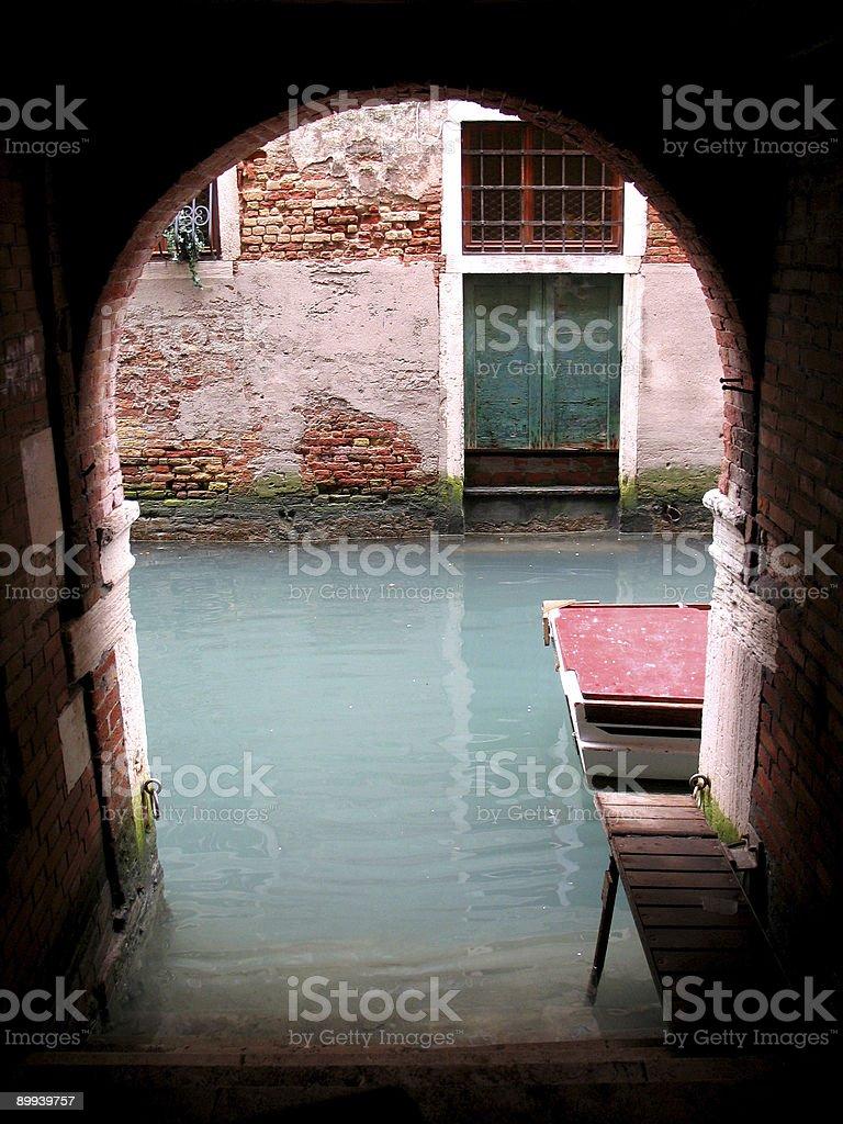Venice Street end royalty-free stock photo