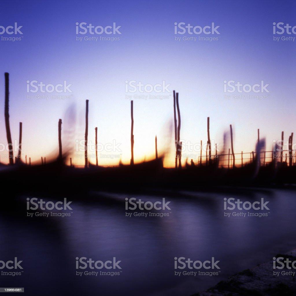 Venice sunrise royalty-free stock photo