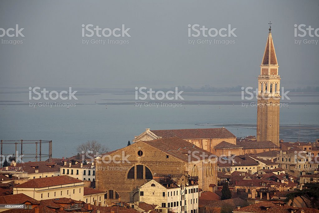 Venice top view royalty-free stock photo