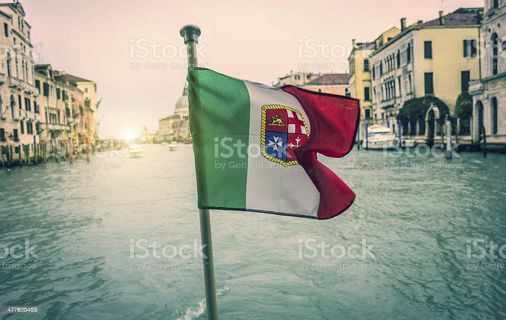Venice view from the boat royalty-free stock photo