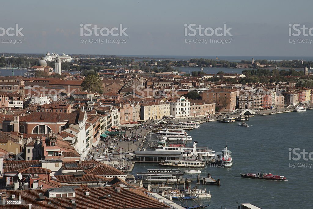 Venice - view of Italy. royalty-free stock photo