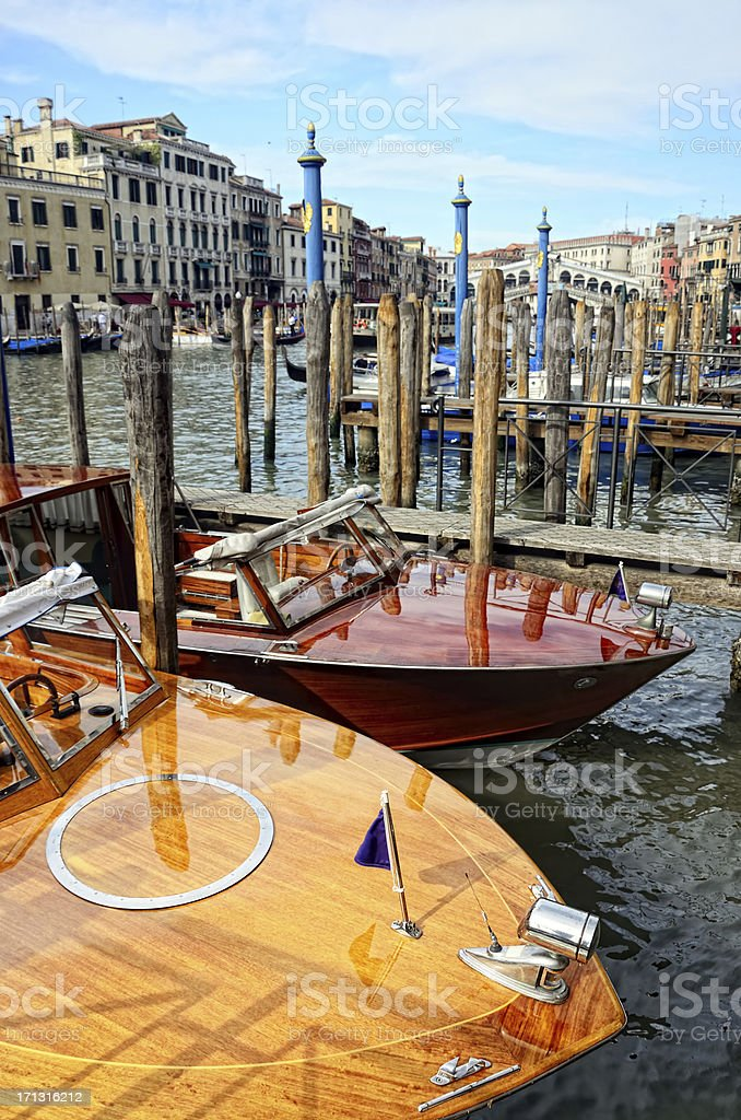 Venice Water Taxi royalty-free stock photo