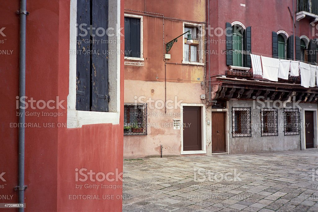 Venice without water royalty-free stock photo