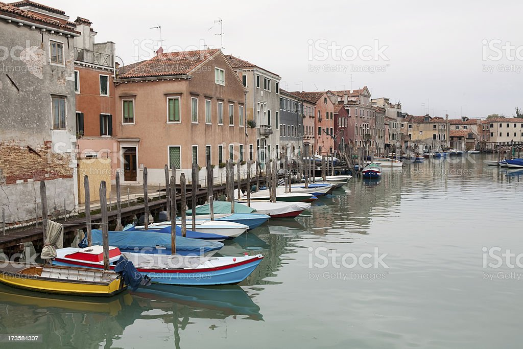 Veniice Italy Canal royalty-free stock photo
