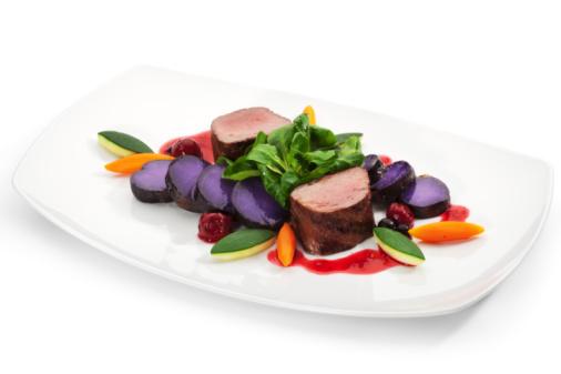 Venison Dish Stock Photo - Download Image Now