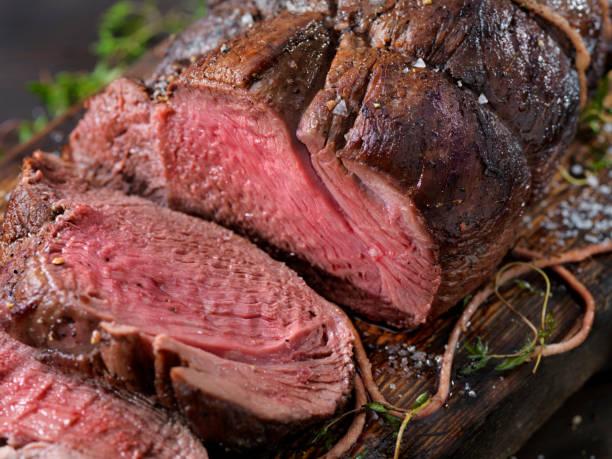 Venison, Elch Sirloin Tip Roast – Foto