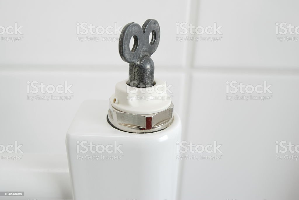 Vent key stock photo