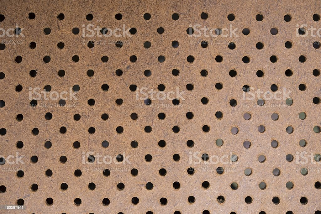 Ventilated Wood Backdrop stock photo