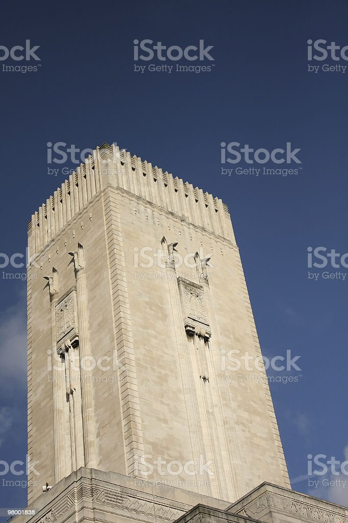 Ventilation Building in Liverpool royalty-free stock photo