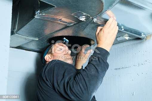 istock Ventilation Cleaner - Check 508123941