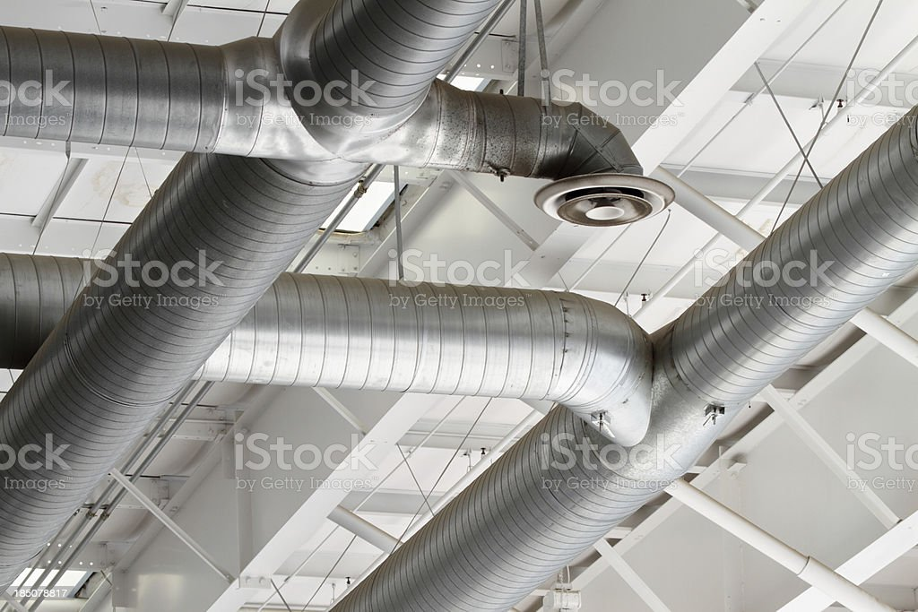 Ventilation Ducts stock photo