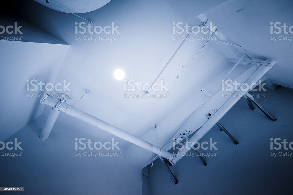 Ventilation Ducts royalty-free stock photo