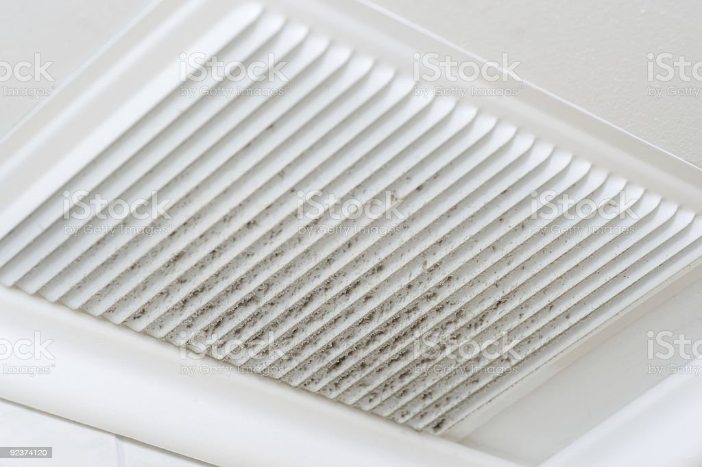 Ventilation dust royalty-free stock photo