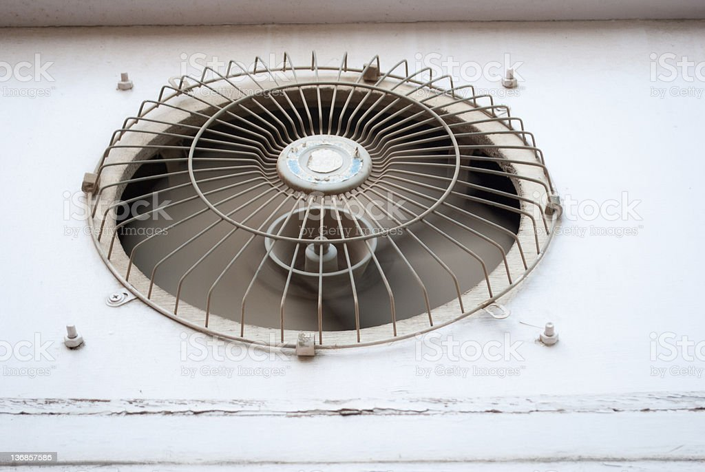 ventilation fan royalty-free stock photo