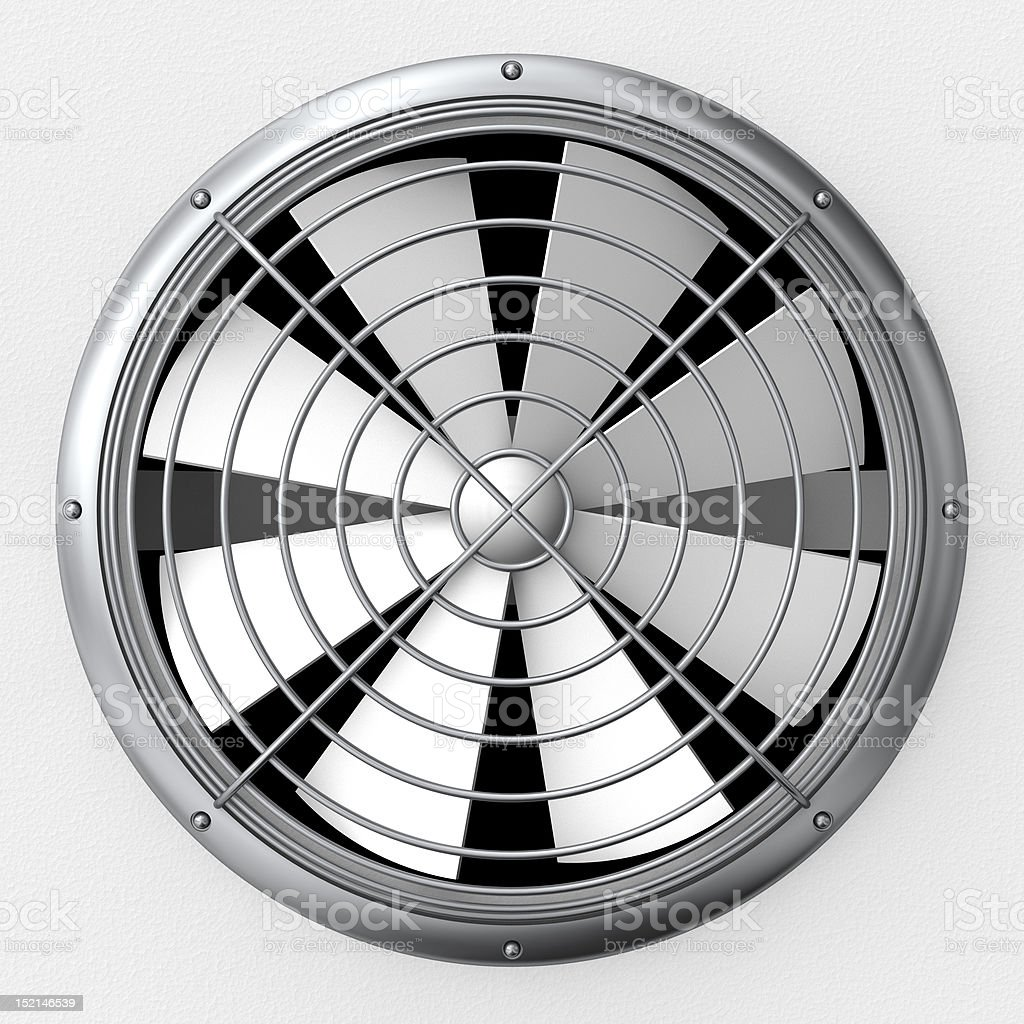 Ventilation fan stock photo