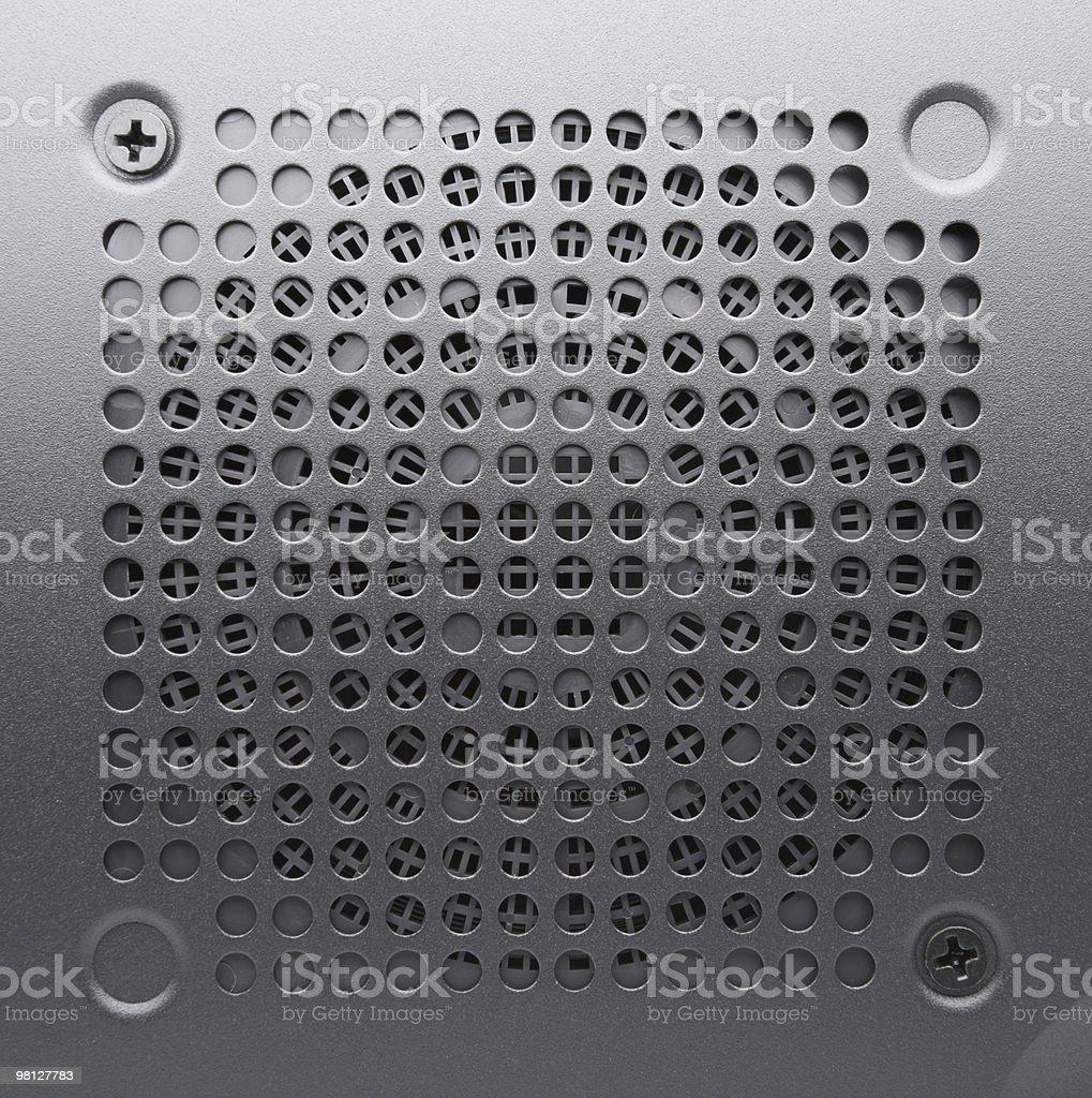 Ventilation lattice royalty-free stock photo