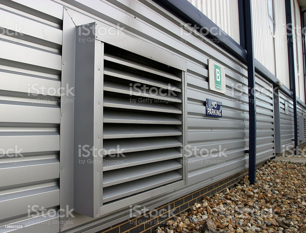 Ventilation royalty-free stock photo