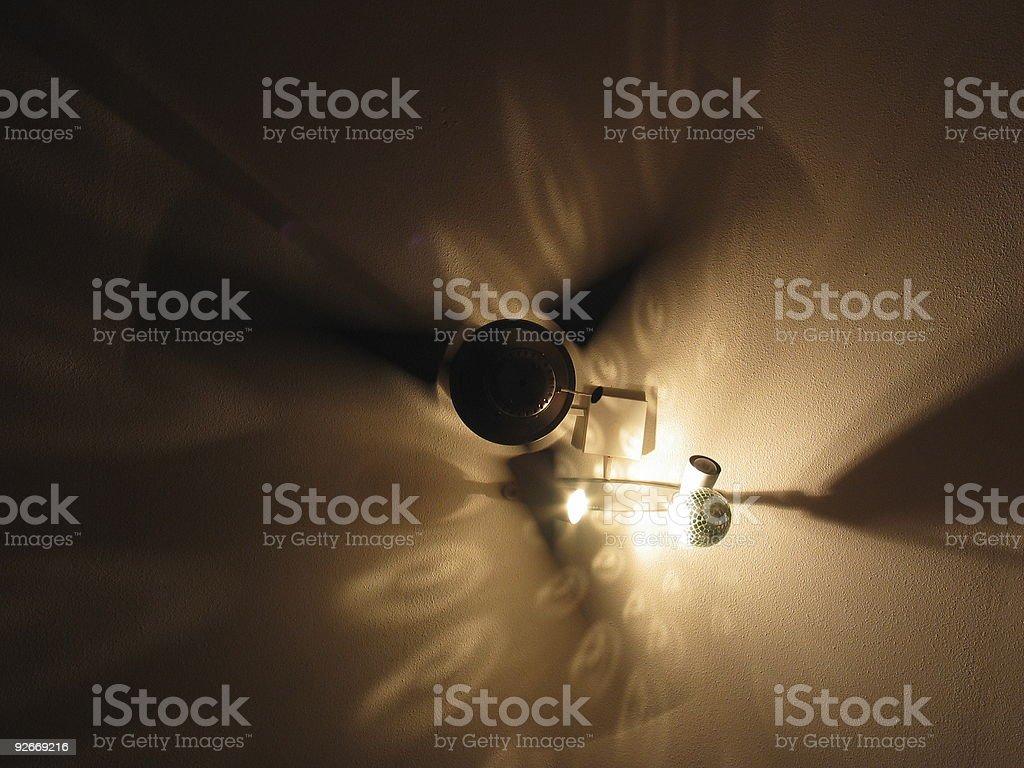 Ventilator on ceiling royalty-free stock photo