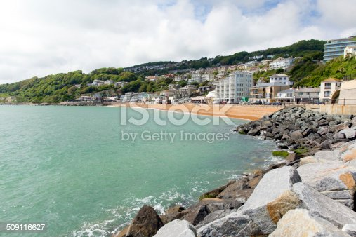 Ventnor Isle of Wight south coast of the island tourist town