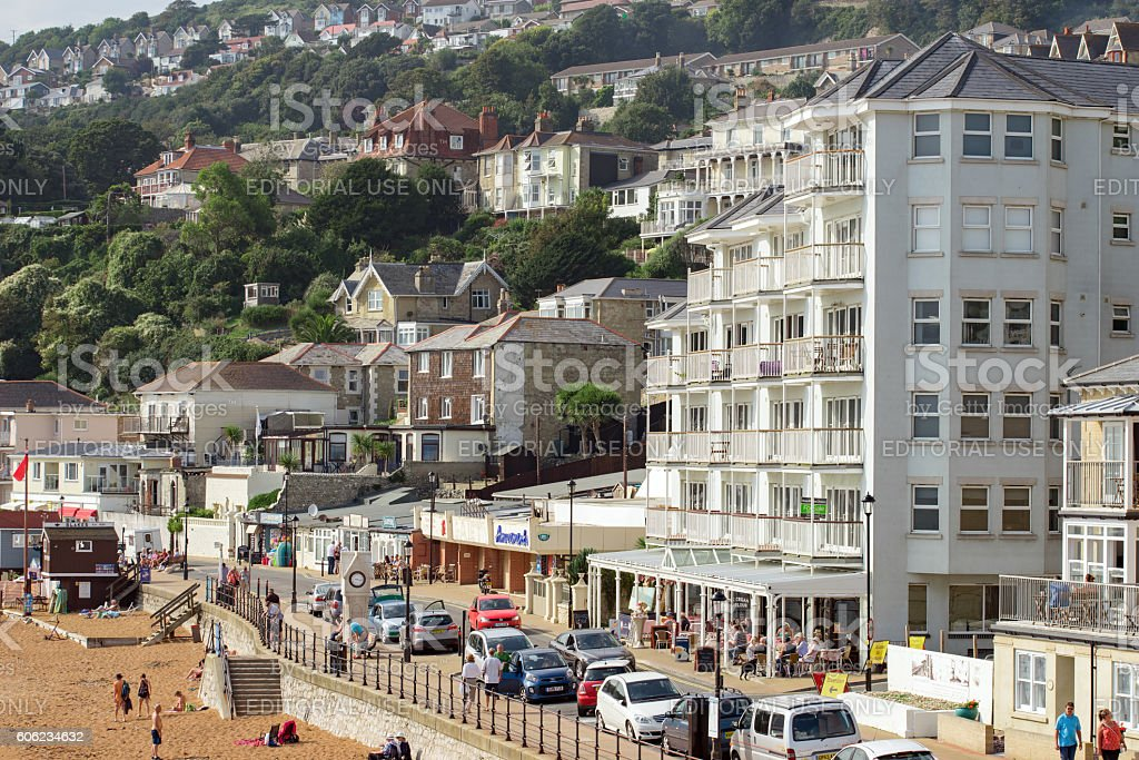 Ventnor on the Isle of Wight stock photo